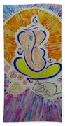 Ganesh Vandan Beach Towel