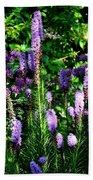 Garden Flowers 1 Beach Towel