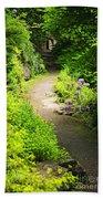 Garden Path Beach Sheet