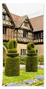 Gardens At Cecilienhof Palace Beach Towel