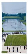 Gardens At Palace Of Versailles France Beach Towel