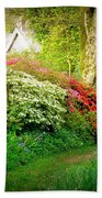 Gardens Of The Old Rectory Beach Towel