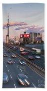 Gardiner Expressway Toronto Beach Towel