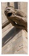 Gargoyles On Ely Cathedral Beach Towel