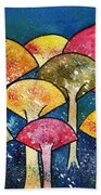 Gathering Of The Colors Beach Towel