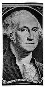 George Washington In White Beach Towel