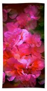 Geranium 9 Beach Towel