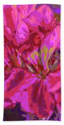 Geranium Pop Beach Towel
