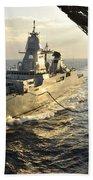 German Sachsen-class Frigate Hessen Beach Towel