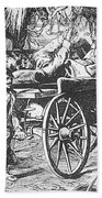 Germany: Seven Weeks War Beach Towel