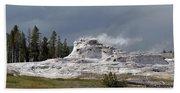 Geyser In Yellowstone Beach Towel