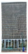 Giant Bank Of M And T Beach Towel