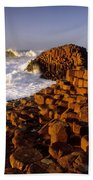 Giants Causeway, County Antrim, Ireland Beach Towel