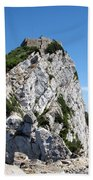 Gibraltar's Moorish Castle Beach Towel