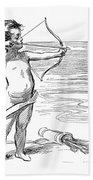 Cupid, 1900 Beach Towel