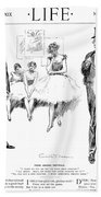 Gibson: Drawings, 1897 Beach Towel