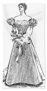 Gibson: Gibson Girl, 1897 Beach Towel