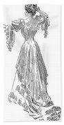 Gibson: Gibson Girl, 1903 Beach Towel