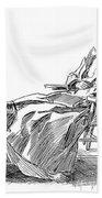 Gibson: Woman, 1898 Beach Towel