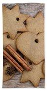 Gingerbread Beach Towel