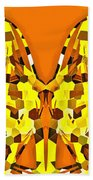 Giraffe-dragons Beach Towel
