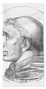 Girolamo Savonarola Beach Towel