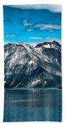 Glacier Bay Alaska Beach Towel
