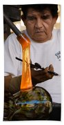 Glass Blower Beach Towel