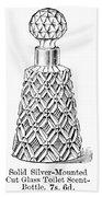 Glass Bottle, 1895 Beach Towel