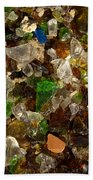 Glass Chips Beach Towel