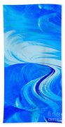 Glassworks In Blue Beach Towel