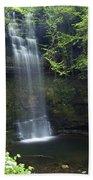 Glencar Waterfall, Co Sligo, Ireland Beach Towel
