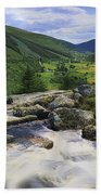 Glenmacnass, County Wicklow, Ireland Beach Towel