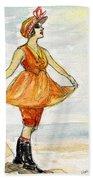Gloria Swanson Beach Towel