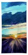Glory Of The Sunset 2 Beach Towel