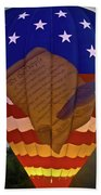 Glowing Constitution Beach Towel