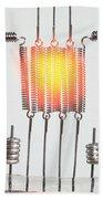 Glowing Filament 3 Of 4 Beach Towel