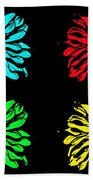 Godess Pop Art Beach Towel