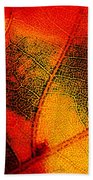 Gold And Green Beach Towel