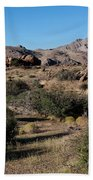 Gold Butte Tumbling Terrain  Beach Towel