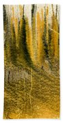 Golden Autumn Forest Beach Towel