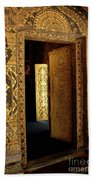 Golden Doorway 2 Beach Towel