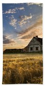 Golden Evening Beach Towel