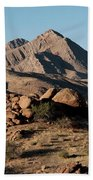 Golden Gold Butte Beach Towel