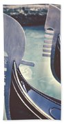 gondolas - Venice Beach Towel by Joana Kruse
