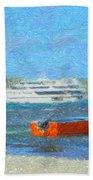 Gone Ashore Beach Towel