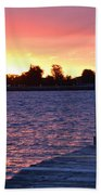 Good Morning From Marysville Michigan Usa Beach Towel