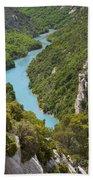 Gorges Du Verdon Beach Towel