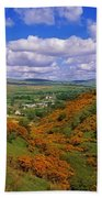 Gortin Valley, Co Tyrone, Ireland Beach Towel
