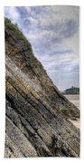 Goscar Rock Tenby 3 Beach Towel